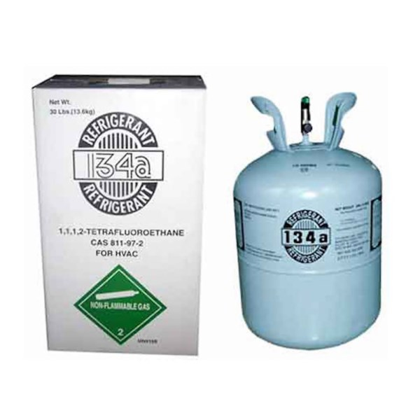 REFRIGERANT 134a 30 lb. 13.6 kg USE WITH POE OIL HONEYWELL, item number: R-134A-30