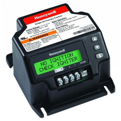 OIL BURNER CONTROL UNIVERSAL DIGITAL HONEYWELL, item number: R7284U1004
