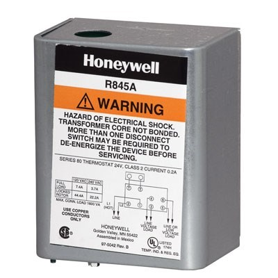 RELAY HYDRONIC SWITCHING 120v HONEYWELL