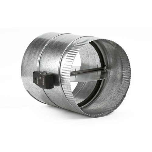 "ROUND DAMPER 8"" PLUG IN ZONEFIRST"
