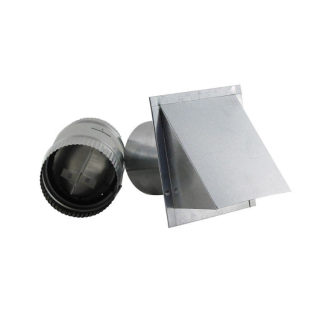 "VENT WALL REVERSIBLE DAMPER 4"" FAMCO"