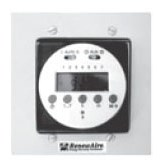 CLOCK TIME DIGITAL WALL MOUNTED RENEWAIRE, item number: TC7D-W