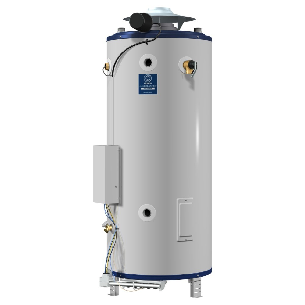 WATER HEATER 100 gal 199 mbh NAT GAS COMMERCIAL SHORT STATE