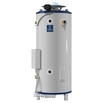 WATER HEATER 85 gal 365 mbh NAT GAS COMMERCIAL ASME STATE