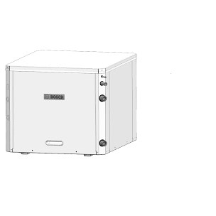 HEAT PUMP UPFLOW 3 TON RIGHT CN HWG 10kw HEATER BOSCH, item number: SM036-1VTN-FRT-AAB-C