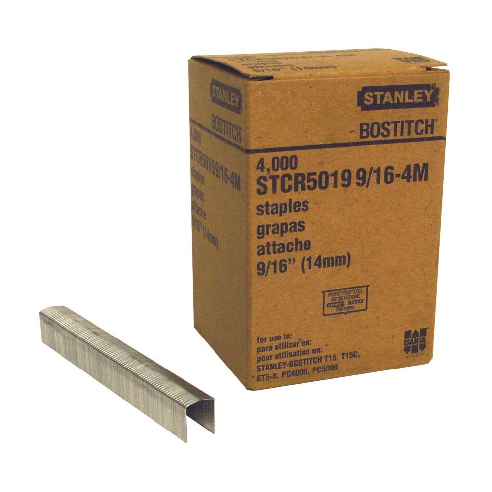 "STAPLE 9/16"" (4000 PACK) BOSTITCH (10)"