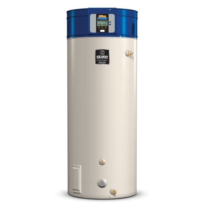 WATER HEATER 100 gal 199 mbh NAT HI EFF 96% COMMERCIAL STATE