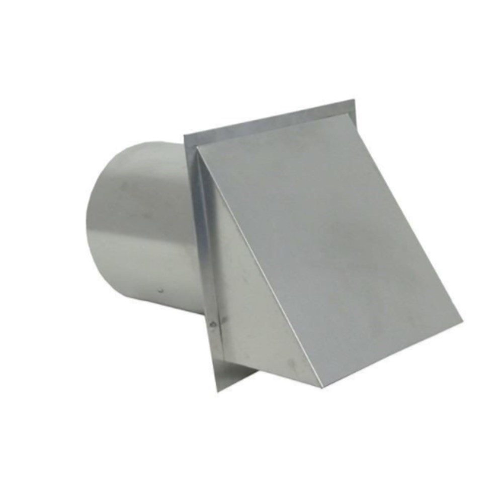 VENT WALL ROUND GALV 8in WITH SCREEN FAMCO (8), item number: SWVG8