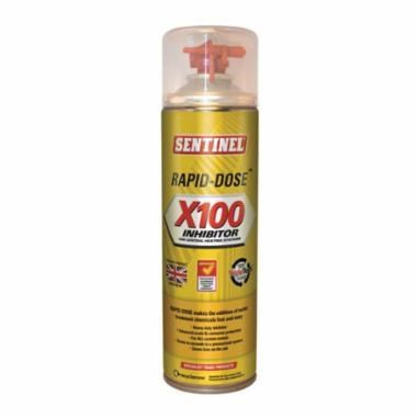 CORROSION INHIBITOR X 100 AEROSOL SENTINEL (12), item number: X-100-RD