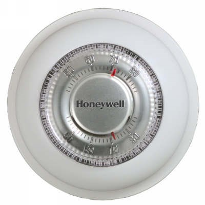 TSTAT ROUND HEAT ONLY MERCURY FREE HONEYWELL (12), item number: T87K1007