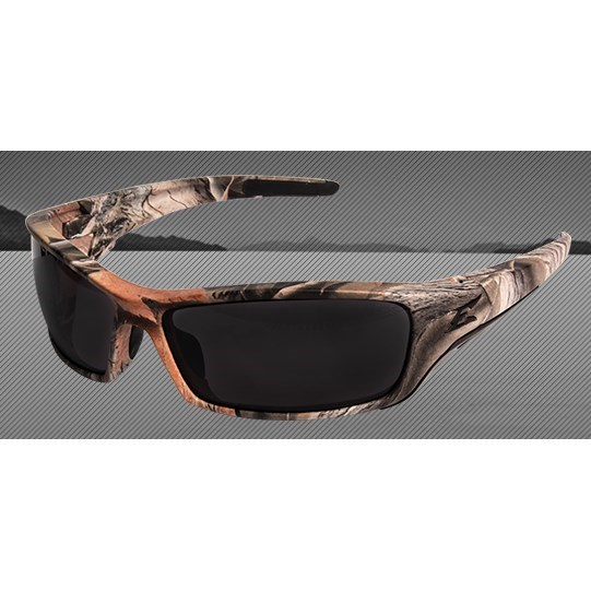 GLASSES FOREST CAMO FRAME SMOKE LENS POLARIZED RECLUS EDGE