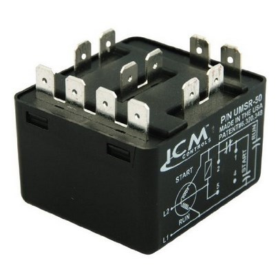 MOTOR POTENTIAL STARTING RELAY UNIVERSAL ICM (10)