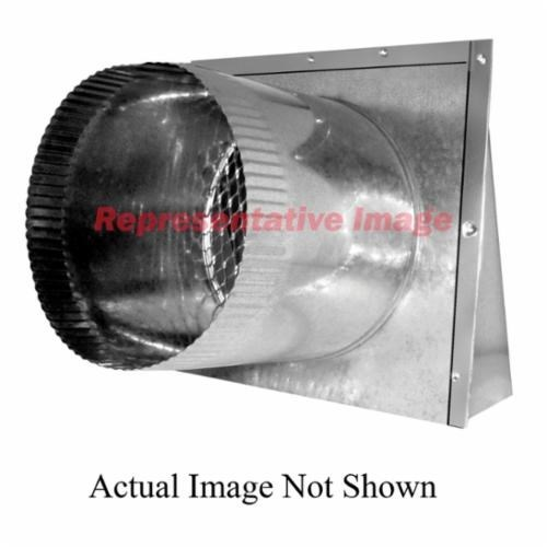 HOOD OUTSIDE AIR INTAKE WITH FILTER RACK MICRO METL, item number: OAM-SDSML-CD