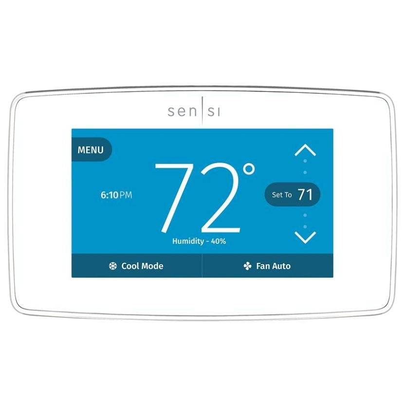 TSTAT SENSI TOUCH WI-FI SMART HOME GEOFENCING WHITE RODGERS