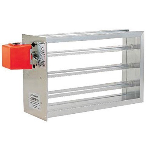 ZONE DAMPER 8inx8in SIDE MOUNT ZONEFIRST, item number: ZDS-8X8