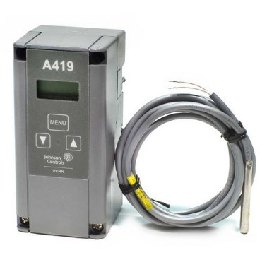 ELECTRONIC TEMPERATURE CONTROL JOHNSON CONTROLS