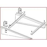 HANGER SUPPORT 36in ADJUSTABLE 20in TO 30in WIDTH DUCTMATE, item number: AIRBRACE