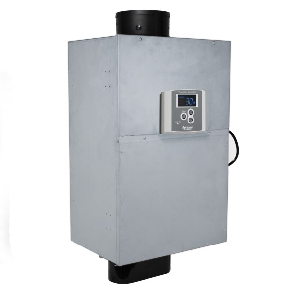 FRESH AIR VENTILATOR W/ POWERED DAMPER & FILTER APRILAIRE