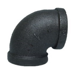 "ELBOW BLACK PIPE 1/2"" (50) 90 DEG"