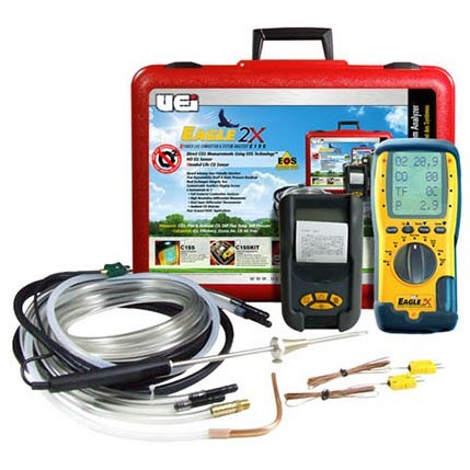 KIT ANALYZER COMBUSTION WITH PRINTER UEI