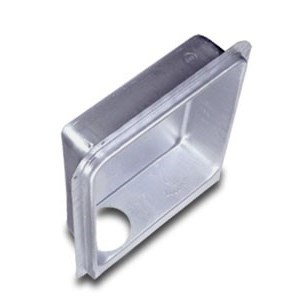 DRYER BOX METAL DOWNWARD 2inx4in WALL (6), item number: DB-3D