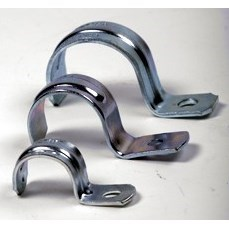 "STRAP ONE HOLE 1"" HEAVY DUTY EMC (100)"