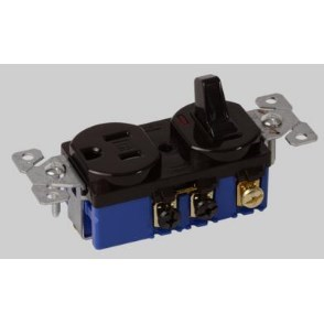 COMBINATION DEVICE TOGGLE & RECEPTACLE SWITCH DEVCO, item number: ED5225