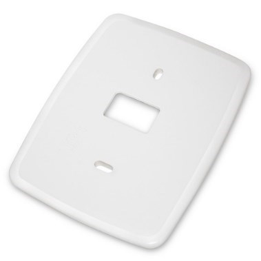 "WALLPLATE WHITE 80 SERIES BLUE 2"" 4"" 6"" 12"" WHITE RODGERS"