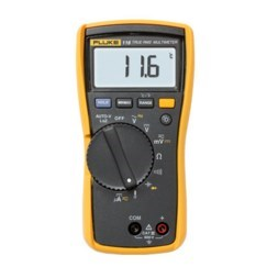 MULTIMETER DIGITAL 600v WITH THERMOMETER FLUKE, item number: FLUKE-116
