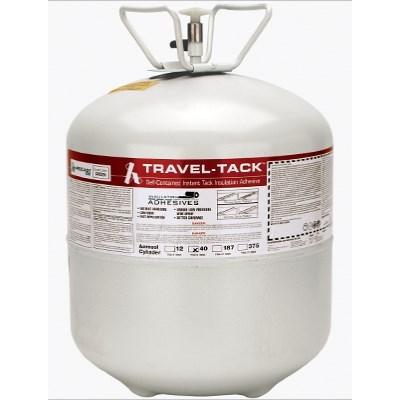 ADHESIVE INDOOR 40 lb GLASS GRIP TRAVEL TACK HARDCAST