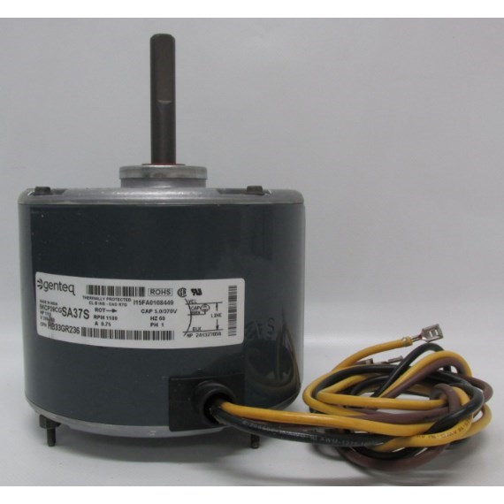 FAN MOTOR 1/10hp 1ph RCD, item number: HB33GR236