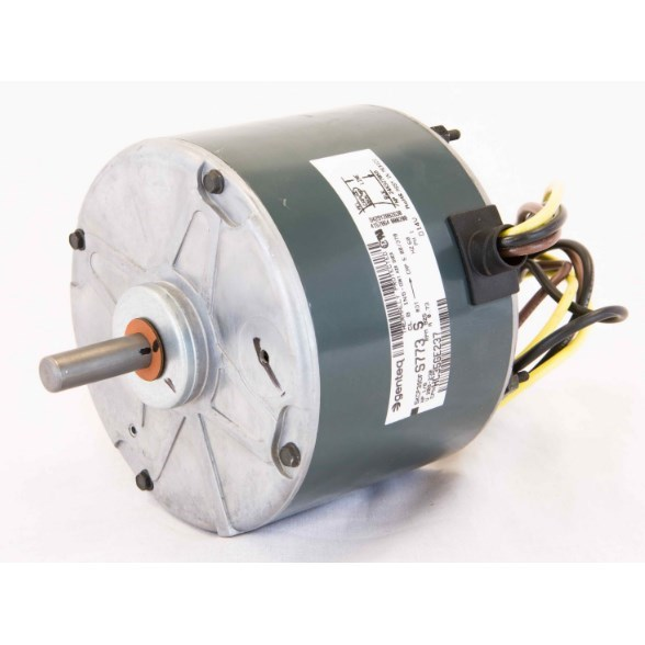 "COND MOTOR 1/8hp 230v CW 825rpm 48 FR 1/2"" SHAFT RCD"