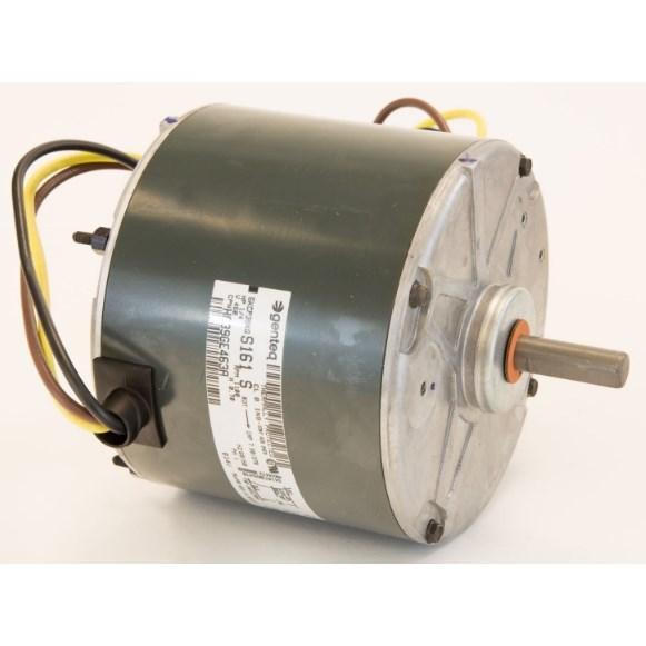 COND MOTOR 1/4HP 460V 1100RPM CW 48FR 1/2in SHAFT THRU BOLT, item number: HC39GE463