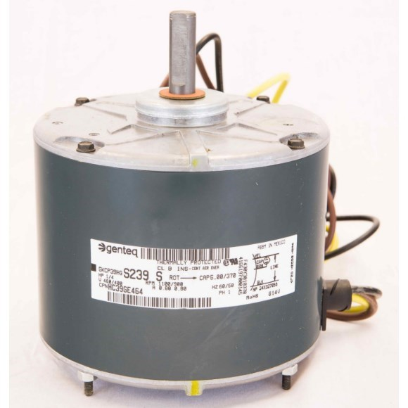 FAN MOTOR 1/4hp 460v 48 1100 rpm RCD