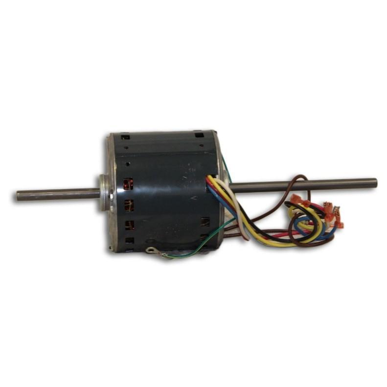 BLOW MOTOR 1/2hp 1075rpm 4 SPD 48FR DBLE 1/2in SHAFT RCD, item number: HC43SZ116