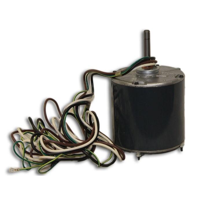 COND MOTOR 1/2hp 460V 1075rpm 48FR 1/2in SHAFT THRU BOLT RCD, item number: HC44VL463