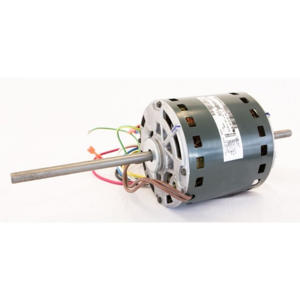 "BLOW MOTOR 3/4HP 115V 1075RPM 48FR DBLE 1/2"" SHAFT RCD"