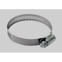 """CLAMP HOSE STAINLESS STEEL 5/16""""-7/8"""" DEVCO"""