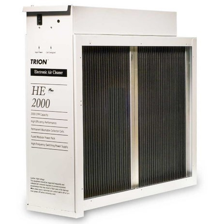 AIR CLEANER ELECTRONIC 2000cfm 20inx25in TRION, item number: HE-2000