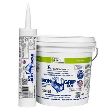 SEALANT DUCT INDOOR OUTDOOR 1 gal IRON GRIP HARDCAST (4)