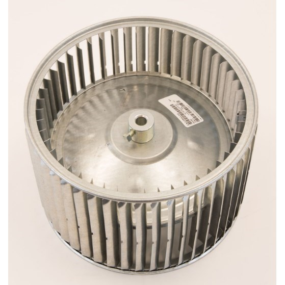 "BLOWER WHEEL 11-1/8"" D x7-1/8"" W 1/2"" SHAFT CW FROM HUB RCD"