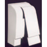 END CAP LEFT HINGED BL SERIES SLANT FIN