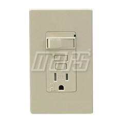 GFCI COMBO SWITCH AND OUTLET GFI MARS (4), item number: M84732