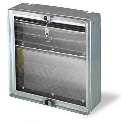 RADIATION DAMPER 100 TO 300cfm 212 DEGREE FUSIBLE LINK BROAN, item number: RD-1