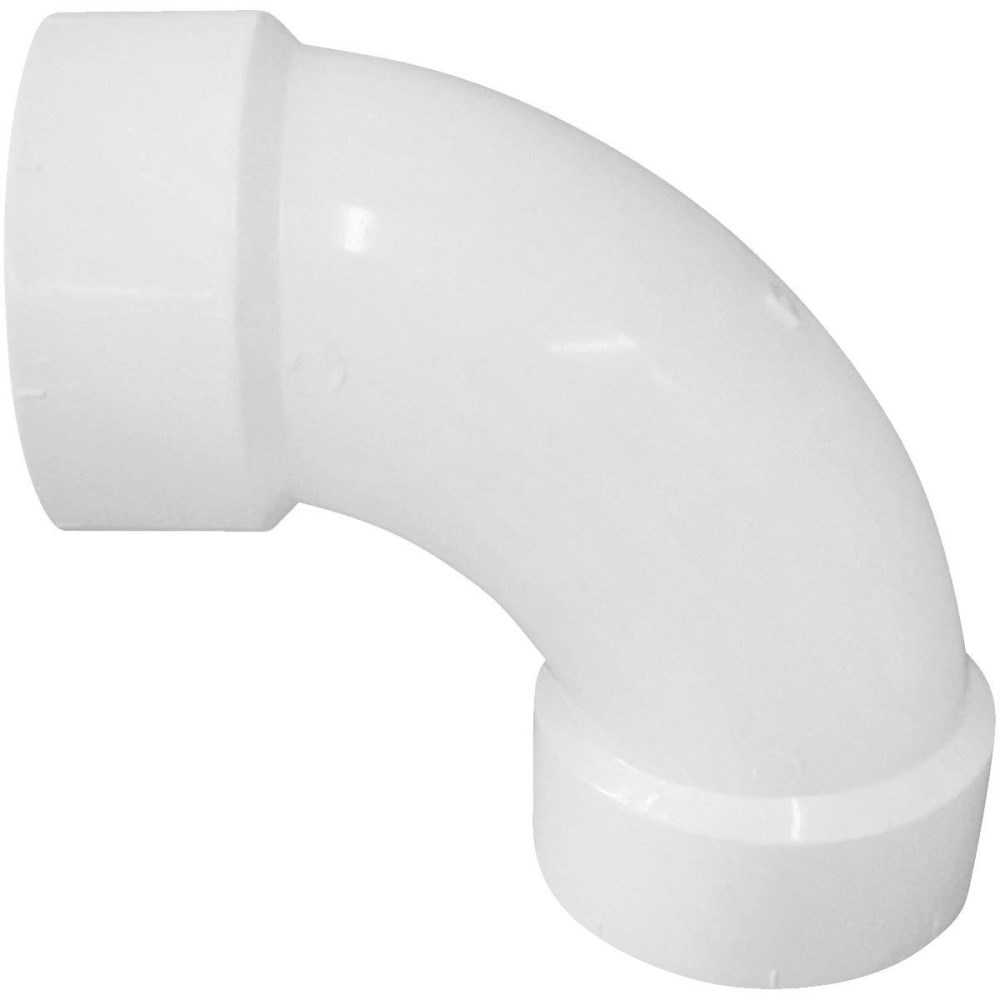 "ELBOW LONG TURN PVC 3"" 90 DEG (20)"