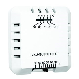 TSTAT HEATING ONLY COLUMBUS ELECTRIC, item number: RK120EAA