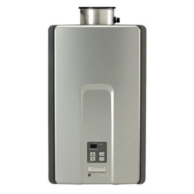 WATER HEATER TANKLESS 82% LP 7.5 gpm RINNAI 180,000 BTUH, item number: RL75IP