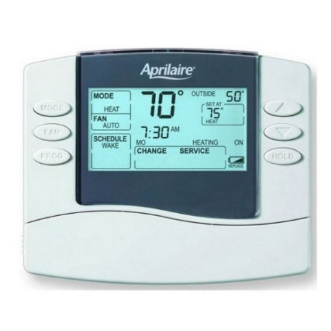 TSTAT PROGRAMMABLE WITH EVENT BASED AIR CLEANING APRILAIRE, item number: RP-8476
