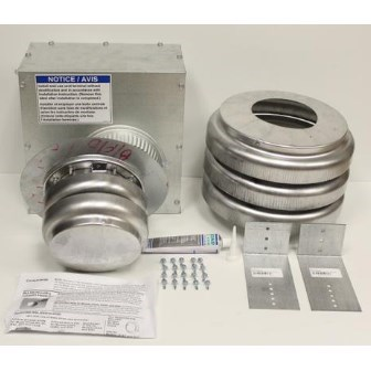 VENT ASSEMBLY VERTICAL CC2 UDAS 30-125 REZNOR
