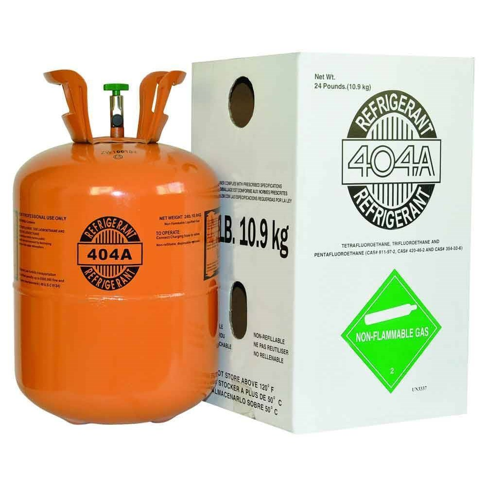 REFRIGERANT 404A 24 lb. 10.9 kg